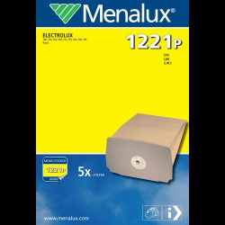 Menalux støvsugerposer 1221P til Electrolux/Eta/Lux/Z.W.T.
