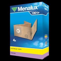 Menalux støvsugerposer 1901P til Electrolux/Lux/Nilfisk/Volta etc.