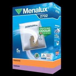 Menalux støvsugerposer 2702 til Panasonic/Samsung/Weltstar etc.