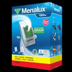 Menalux støvsugerposer og -filtre 1800VP til Electrolux/Philips