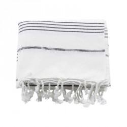 Meraki hammam hÅndklÆder, hvid (l180 cm)