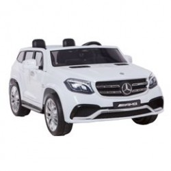 Mercedes elbil - GLS63 - Hvid