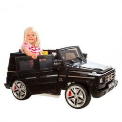 Mercedes elbil - SUV G55 - Sort