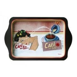 Metal bakke - Café au lait