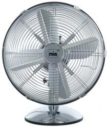 Mia Retro Steel 33 Cm Ventilator