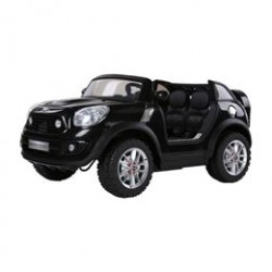 Mini Cooper elbil - Beach bomber - Sort
