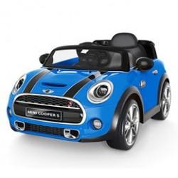 Mini Cooper elbil - Hatch - Blå