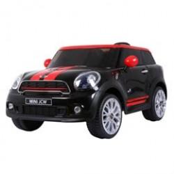 Mini Cooper elbil - Paceman - Sort/Rød