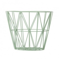 Mint wire basket (stor)