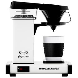 Moccamaster kaffemaskine - Cup-one - White