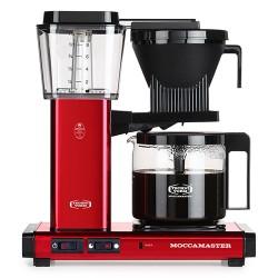 Moccamaster kaffemaskine - KBGC 982 AO - Rød metal