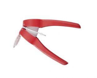 Moha Aglio hvidløgspresser rød