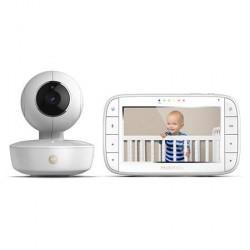 """Motorola MBP55 Opladelig Babyenhet, Video 5"""" Monitor Forældreenhed"""