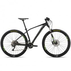 Mountainbike med 20 gear - Orbea Alma H50 - Sort/lime