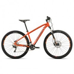 Mountainbike med 20 gear - Orbea MX10 - Sort/orange