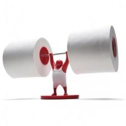 Mr. t toiletrulleholder (rØd)