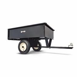 MTD Stål trailer med tip, kapacitet max. 340 kg
