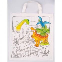 Mulepose til at dekorere. Dinosaurus.