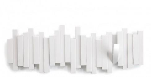 Multi hook knagerÆkke (hvid)