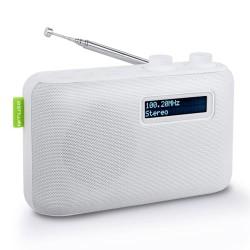 Muse DAB-radio - M-108 - Hvid