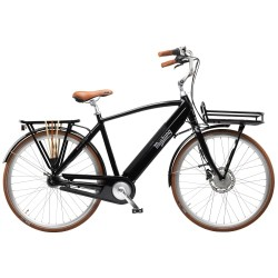 Mustang August Electric elcykel med 7 gear - Black