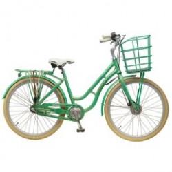 Mustang Augusta pigecykel med 3 gear - Grøn