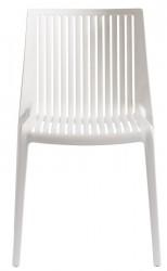 Muubs - Cool Stabelstol - Hvid plast