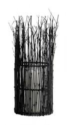 MUUBS Fishtrap Small Lysholder Bambu 45x16 cm - Sort