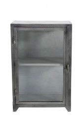 Muubs - Glasskab 16 m/1 låge - Jern