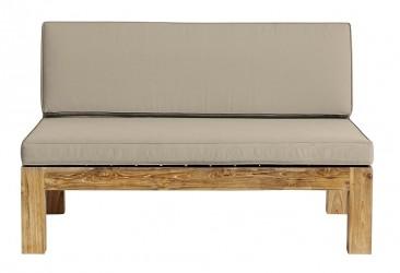 Muubs - Lounge 2-pers. sofa - Genanvendt teaktræ