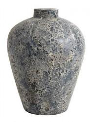 MUUBS Luna Krukke Stone blue Terracotta 40x32 cm