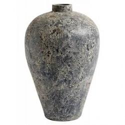 MUUBS Luna Krukke Stone blue Terracotta 60x35 cm