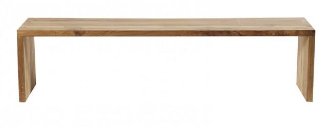 Muubs - One Bænk 180 cm - Genanvendt teak
