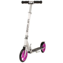 My Hood løbehjul - 200 - Hvid/pink
