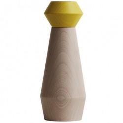 My salt/peber kvÆrn (gul)