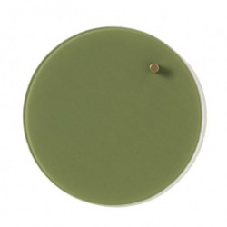 Naga cirkel glass (25 cm/oliven)