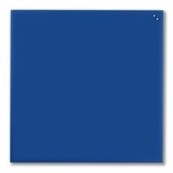 NAGA glastavle magnetisk 100x100 cm - blå