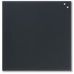 NAGA glastavle magnetisk 45x45 cm - koksgrå