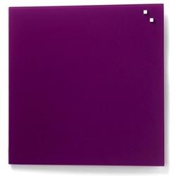 NAGA glastavle magnetisk 45x45 cm - lilla