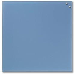 NAGA glastavle magnetisk 45x45 cm - lys blå
