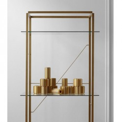 New works - Reol - Florence shelf gold (large)