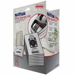Nilfisk Elite Startkit 8 poser, 1 hepa14, 2 forfiltre