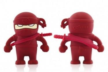Ninja usb nØgle 4 gb (rØd)
