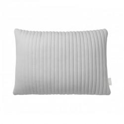 Nomess Linear Memory Pillow Rectangular Grey