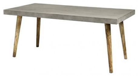 Nordal betong spisebord - Rektangulært