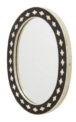 Nordal Bone mirror - oval
