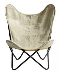 Nordal Butterfly chair - Canvas