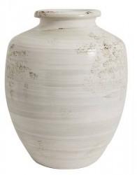 Nordal Krukke antik 47 cm - Hvid