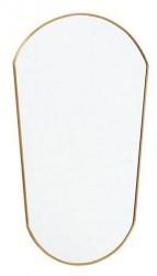 Nordal Spejl Oval 51x34 cm - Guld