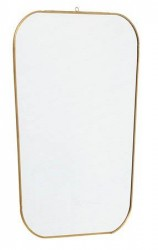 Nordal Spejl Square 51x35 cm - Guld